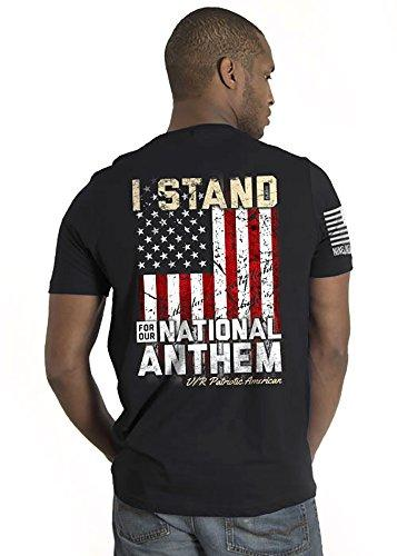 Nine Line Men's T-Shirt - I Stand (Large)