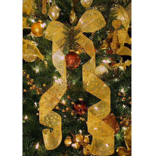 2019 Christmas Party Xmas Tree Ornaments 2m Tinsel Hanging Decorations Home Decor for Christmas tree Wholesale price 10.28