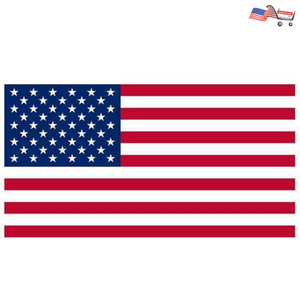 3 PCS Double Sided Printed American Polyester Grommets USA Flag