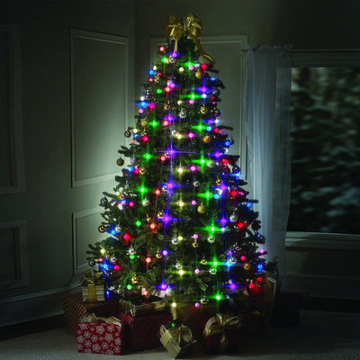Led Christmas Tree 64 Lights Charge Glow Light Christmas Decorations for Home Arbol de Navidad xmas tree