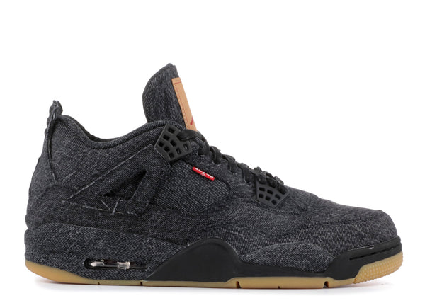Jordan 4 Retro Levi's Black (GS)