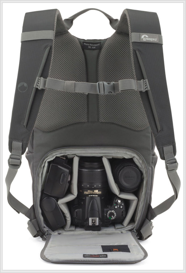 22L AW DSLR Camera Backpack with All Weather Cover - Dazam