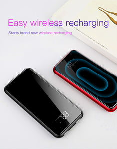 Baseus 8000mAh Wireless Charger Power Bank - Dazam