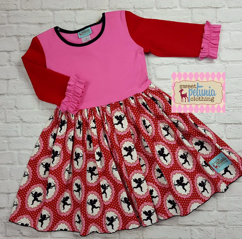 Pink and Red Cupid Dress