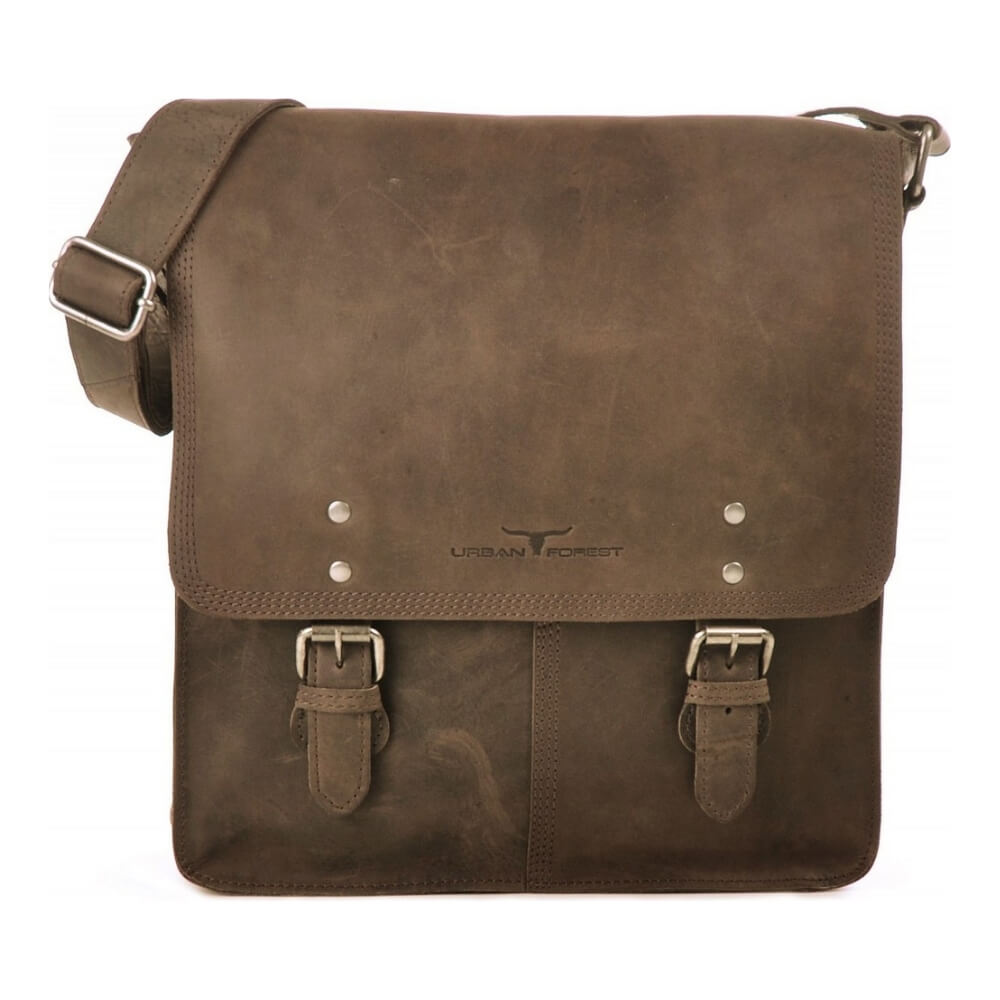 Urban Forest Leather Satchel Bag - Tobacco