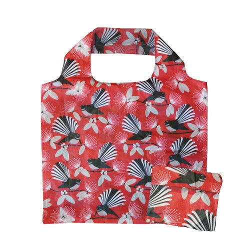 Fold Out Bag Flirting Fantails Red