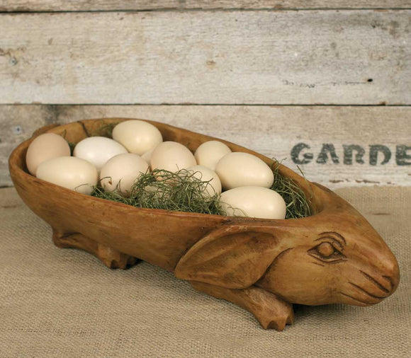 Rabbit Bowl Treen