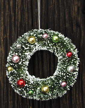 Sisal Wreath Ornament