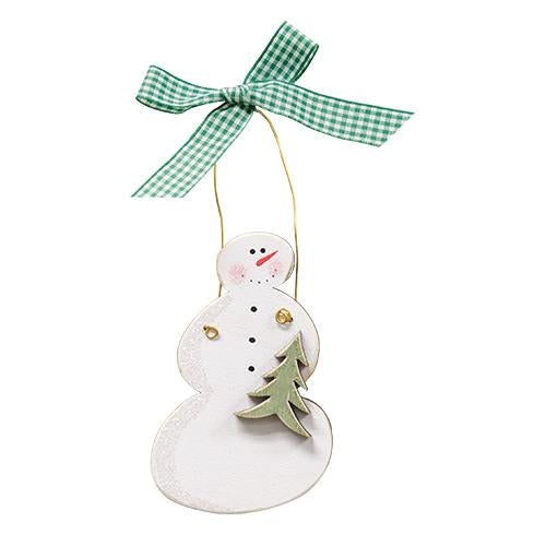 Snowman w/Tree Ornament