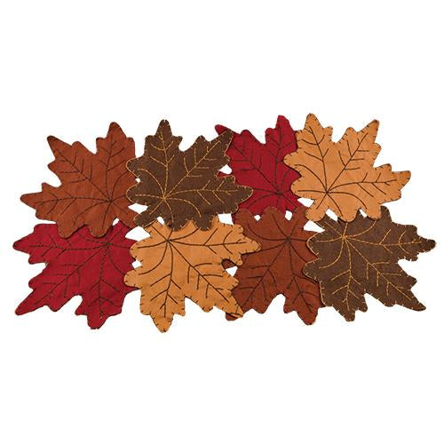 Fall Leaves Table Mat - Old-Time-Shoppe