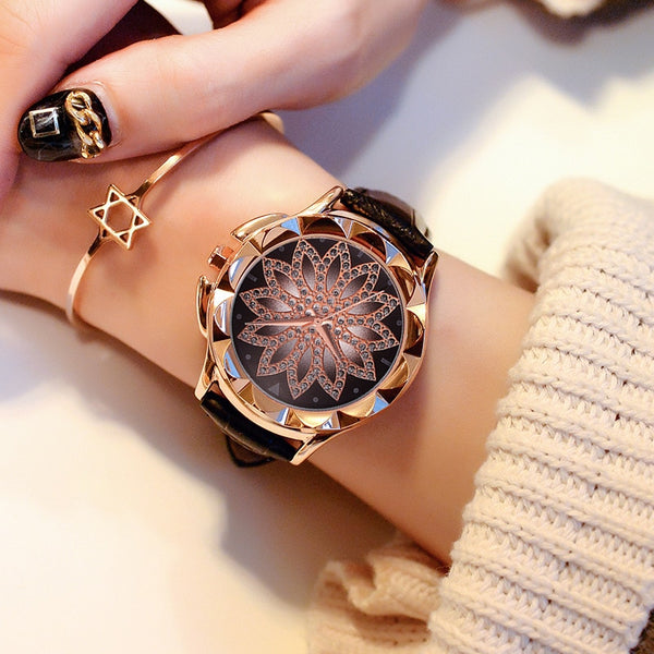 Luxury  Rose Gold Women Watch Fashion Casual