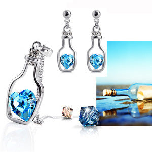 Love in a Bottle Jewelry Sets - Wel Bell