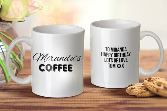 Name Coffee Mug