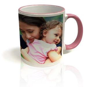 Colour Trim Mug