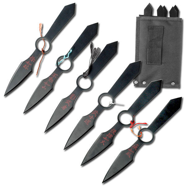TK-015-6 Throwing Knife Set