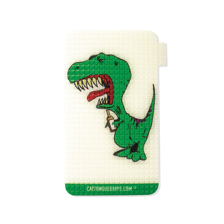 Small Dino-Sore-Us cell phone grip