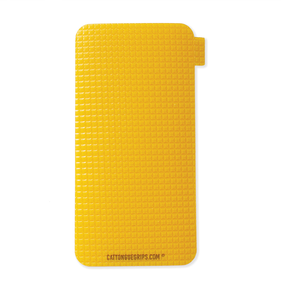 Gold / yellow cell phone grip for your mobile device or case