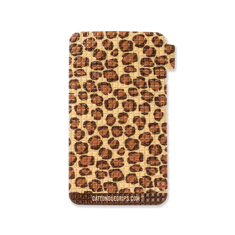 Cheetah inspired cell phone grip for your mobile device
