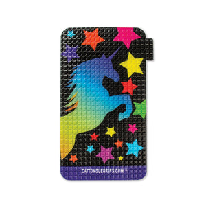 Unicorn inspired cell phone grip for your mobile device