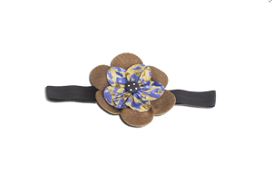 Baby Girl Hair Accessories for Newborn, Infants and Toddlers: BAND OF BROWN, Baby and Kids Hair Accessories, ZuriBabyCouture-Global