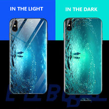Load image into Gallery viewer, Luminous Tempered Glass Case For Galaxy Note 8 - Sea
