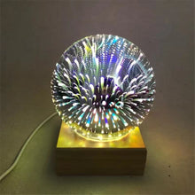 Load image into Gallery viewer, Atom - Glass LED Lamps (Round)