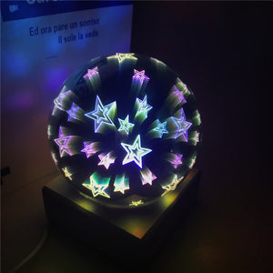 Atom - Glass LED Lamps (Round)