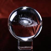 Load image into Gallery viewer, Milky Way Lasered Crystal Ball
