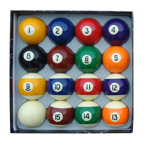 Pool Ball Set 2 1/4""
