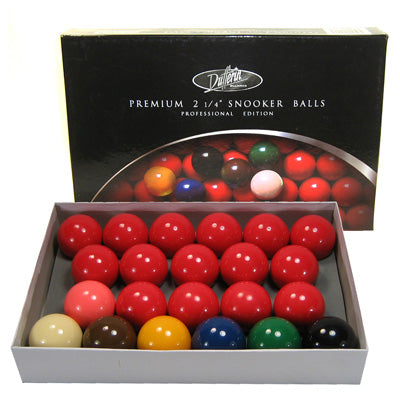 Dufferin Premium 2 1/4'' Snooker Set