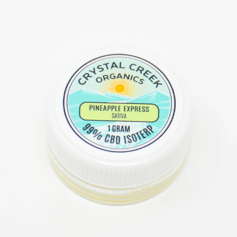 Pineapple Express CBD Concentrate 1000mg by Crystal Creek Organics