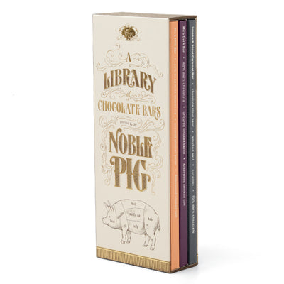 The Noble Pig Chocolate Bar Library