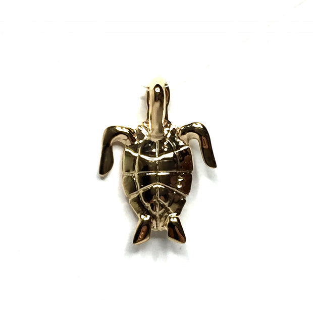 SUPERIOR QUALITY NATURAL OPAL INLAID SEA TURTLE PENDANT