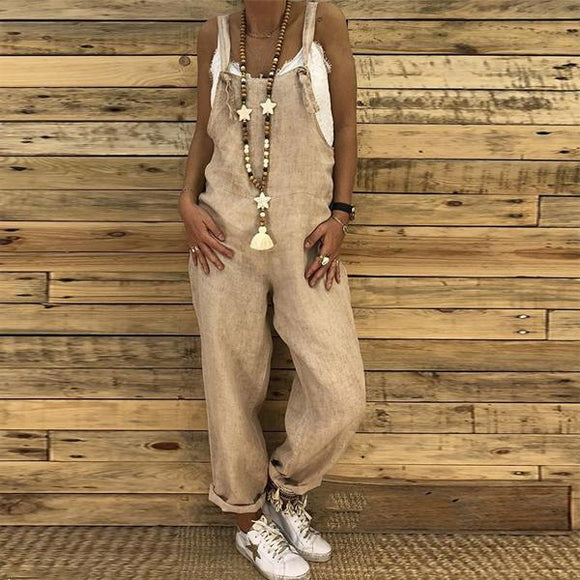 Women's Vintage Overall Jumpsuit