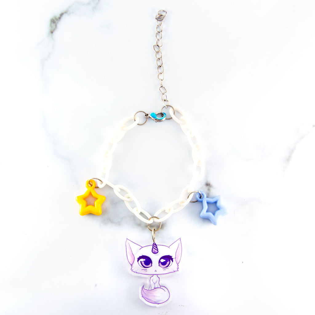 Unicorn Cat bracelet