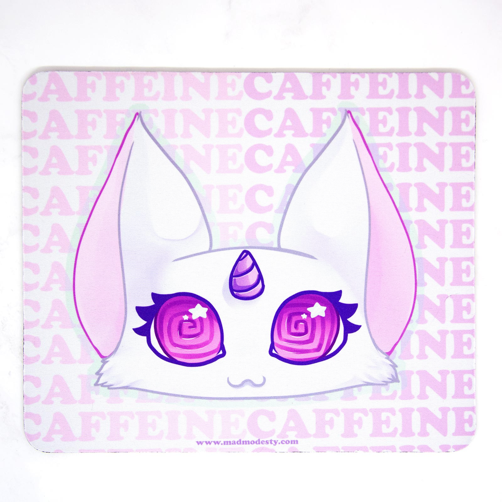 Caffeine kitty mouse mat
