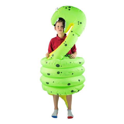 Kids Inflatable Snake Costume