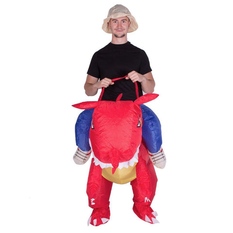 Inflatable Dragon Costume