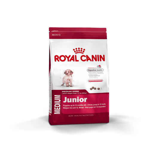 Royal Canin Medium Junior 15Kg - Clínica Veterinaria Chicureo