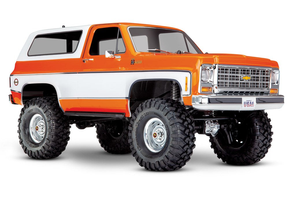 Traxxas 82076-4 TRX-4 Scale and Trail Crawler with 1979 Chevrolet Blazer Body: 4WD Electric Truck with TQi Traxxas Link Enabled 2.4GHz Radio System