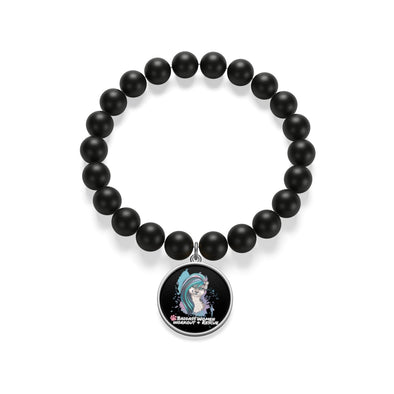 Accessory | Bad Ass Cat | Onyx Bracelet