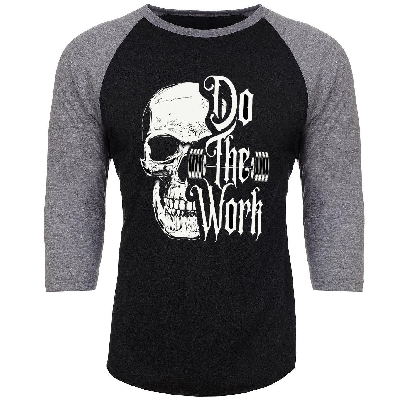 DO THE WORK UNISEX 3/4 SLEEVE