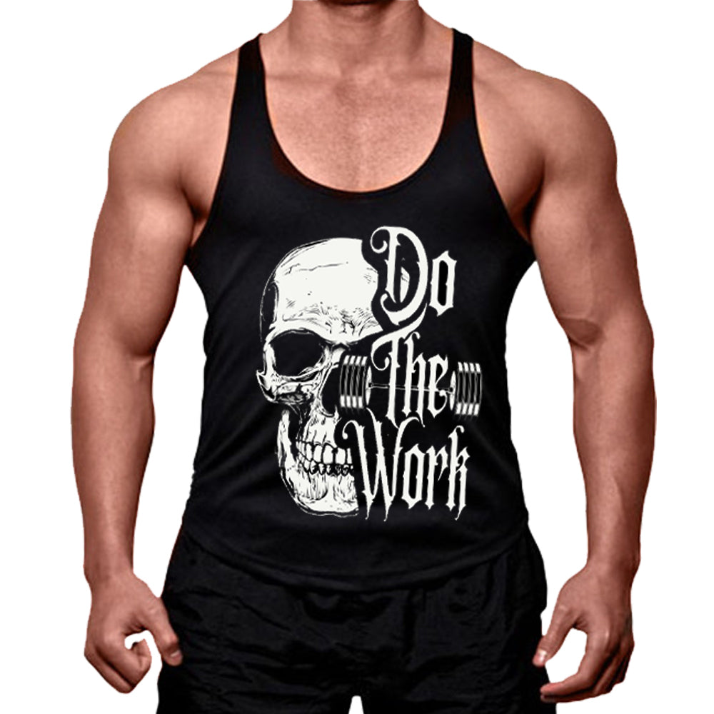 DO THE WORK MEN'S STRINGER TANK TOP
