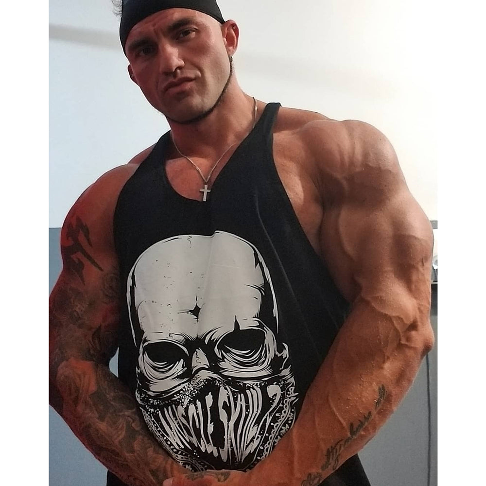 LOAD N KILL MEN'S STRINGER TANK TOP