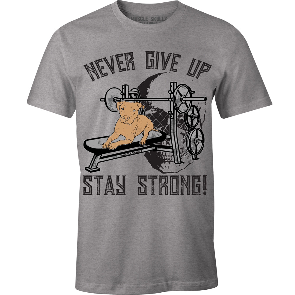NEVER GIVE UP STAY STRONG TEE