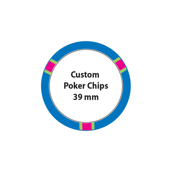 Custom Poker Chips - 39mm