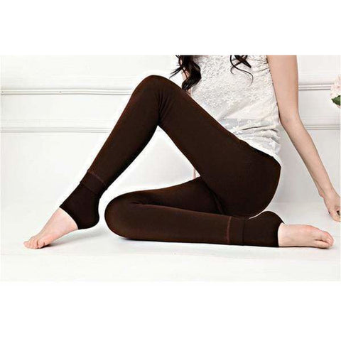 Image of Divine Fur-Lined Winter Leggings