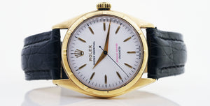 1951 Rolex Oyster Perpetual 6085 Bubbleback Automatic Mens Watch