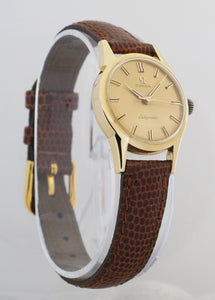 Omega Ladymatic 18k Yellow Gold