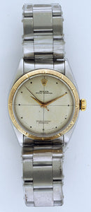 Rolex Zephyr 14k Yellow Gold & Stainless Steel
